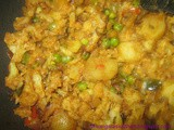 Potato Mochai Cauliflower Mixed Vegetable Curry - Nutritious Lunch Curry Recipe