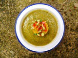 Turkish-style cucumber and tomato soup