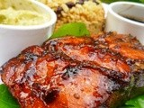 Wahaca: mexican food at home - grilled salmon in smoky tamarind sauce