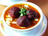 How to make vegetable kofta curry with beetroots