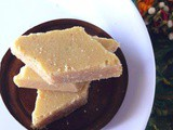 Seven cup cake sweet recipe / easy 7 cup burfi
