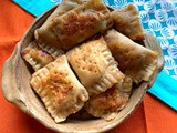 Cheesy Pan Pockets | Tava Pan Pockets Recipe By Masterchefmom