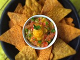 Mango Salsa | Summer Dip | Mexican Mango Salad | Gluten Free and Vegan Recipe | Quick and Easy Recipe
