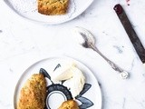 Orange and Poppy Seed Cream Scones