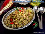 Vazhaipoo Toor Dal Pulav - a healthy and super delicious Pilaf made with Banana Blossom mildly spiced with Indian Spices