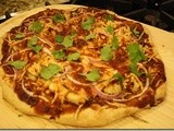 135.6…Almost-Famous Barbeque Chicken Pizza