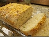 135.8…Cheddar-Scallion English Muffin Bread and oxo Giveaway Winner