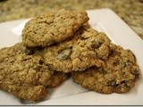 136.2…Oatmeal Raisin Cookies