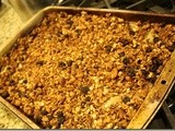 136.8…Homemade Granola & Peanut Butter