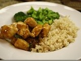 136.8…Spicy Basil Chicken