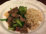 138.2...Mongolian Beef and Broccoli