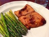139.2…Salmon with Hoisin Glaze