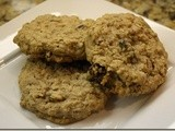140.4…Raisin Pecan Oatmeal Cookies