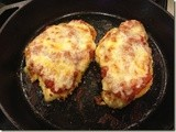 141.4…Oven-Fried Chicken Parmesan