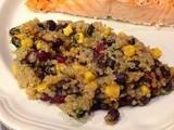 141.6…Quinoa and Black Beans