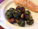 142.6…Balsamic-Roasted Brussels Sprouts
