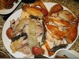 142.8…Good Eats Roast Turkey