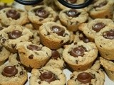 143.2…Rolo Chocolate Chip Cookie Cups