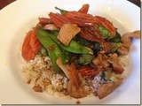 143.2…Sweet & Spicy Chicken Stir Fry