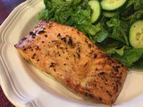 143.6...Melt-in-Your-Mouth Broiled Salmon