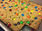 144.4...m&m Blonde Brownies