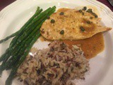 144.6…Chicken with Lemon-Caper Sauce