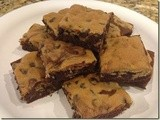 144.8…Chocolate Chip Cookie Brownies