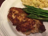 144.8...Parmesan-Crusted Chicken Cutlets