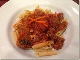 144.8…Penne Bolognese-Style
