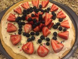 145.4....4th of July Fruit Pizza