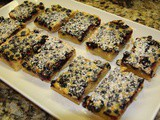 146.0...Blueberry Bars with a Shortbread Crust