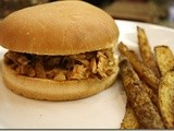 Slow Cooker Texas Pulled Chicken – Holiday Recipe Club
