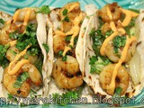 Rice & Shrimp Taco - #TacoTuesday #2