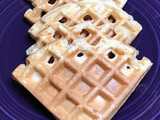 Apple Sauce Waffles