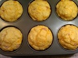 Canadian Bacon& Cheese Muffins