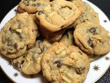 Chocolate & Potato Chip Cookies