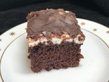 Dark Chocolate Mississippi Mud Cake
