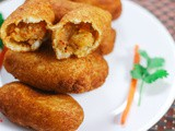 Bread Rolls Stuffed | Evening Snacks Recipe