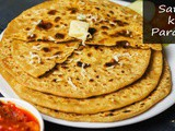 Cheese Sattu Ka Paratha | Breakfast Recipes