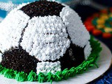Football Theme Cake Decoration | Dessert Recipe