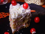 White Forest Cake | Dessert Recipe