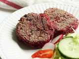 Vegan Spiced Beetroot Cutlets Recipe | Spicy Beetroot Patties