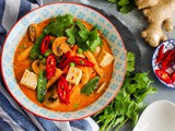 Vegetable Thai Red Curry Recipe | Vegan Thai Red Curry