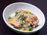 Panang Curry Salmon with Asian Style Veggies