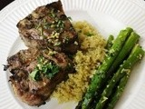 Spring has Sprung! Lamb Chops and Roasted Asparagus