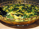 Light and Healthy Shrimp and Spinach Crustless Quiche
