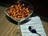 Need a Boost? Cinnamon and Honey Roasted Chickpeas