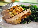 Want Your Family to Eat Their Greens? Serve them with Rosemary Crusted Pork Chops