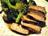 Why Reinvent the Wheel? – Pork Chops and Broccoli with Garlic Oyster Sauce