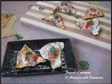 Assorted Papad Canapes / Healthy Papad Snack